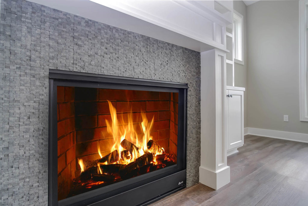 Tiled Fire Place Surround